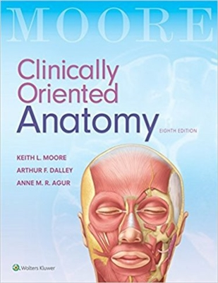 Clinically Oriented Anatomy 8th Edition Anatomy Textbook